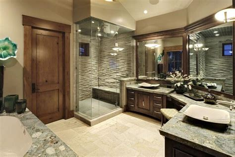 Vessel Sink Vanities Without Sink 20 Elegant Bathrooms With Corner Showers Designs