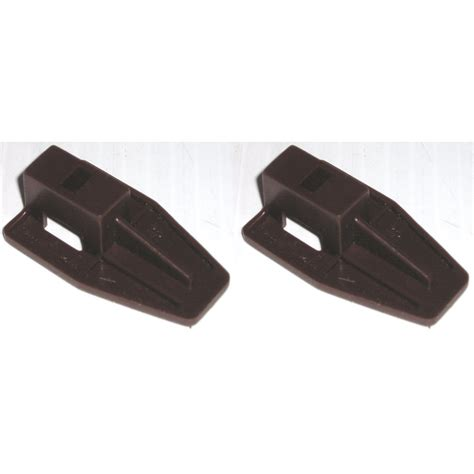 Plastic Drawer Slide Guides by Kenlin Brown Plastic Drawer Stop Slide Runner Fits Guide