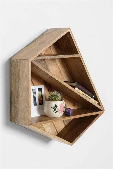 Diy Bohemian Home Decor geometric shelves simple yet eccentric and great for