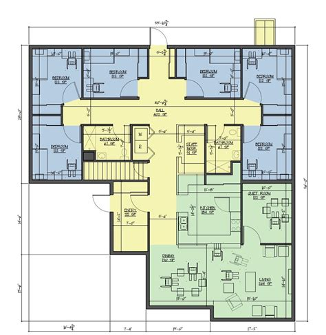 group home floor plans group main stream bild architecture