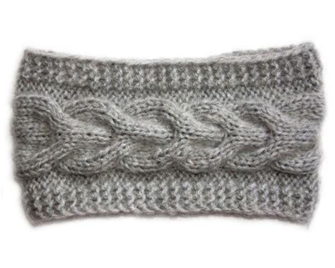 Scarf I2 by Nuwzz Handmade Knitting Headband Ear Warmer Cable