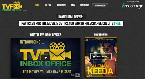 film it inbox us go viral the viral fever launches movie streaming service tvf inbox
