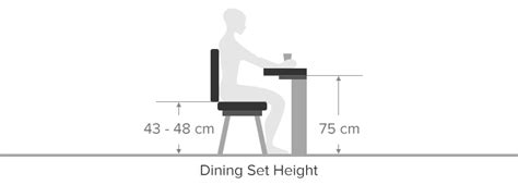 proper chair height for desk dining set buying guide atlantic shopping