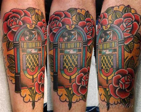 don design tattoo i m definitely working a jukebox into my tribute