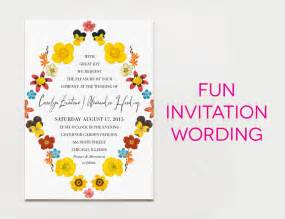 invitation wording in 15 wedding invitation wording sles from traditional to