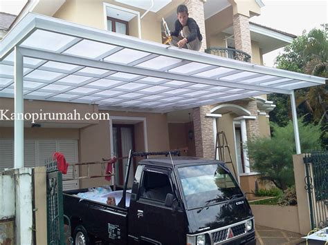 Pagar Rumah Kanopi Teralis Jendela Canopy Minimalis