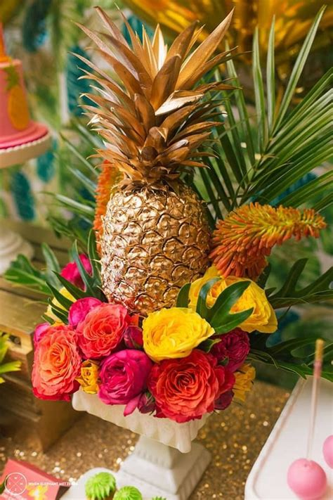20 beautiful gold pineapples for home decor the kim six fix wedding party archives page 7 of 26 deer pearl flowers