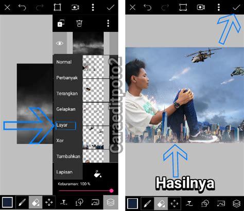 cara edit foto yang ada tulisannya tutorial picsart edit foto manipulasi raksasa keren banget