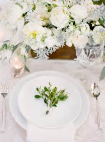 magnolia plantation charleston winter wedding table setting plate decoration once wed