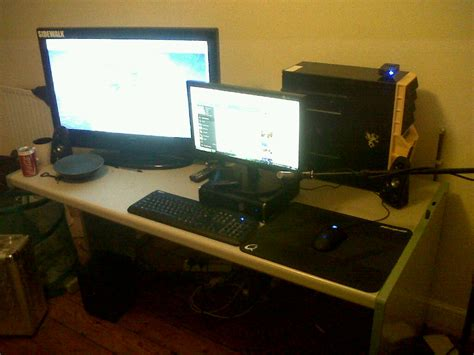 pc gaming setup ideas r tribes post pictures of your gaming setups tribes