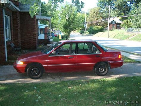 car manuals free online 1992 mercury tracer interior lighting 1992 mercury tracer sedan specifications pictures prices
