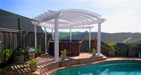 curved pergola kits outdoor goods