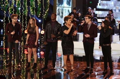 who went home on the voice 2013 season 5 last top 6