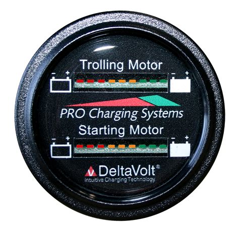 marine battery charge gauge dealer support pro charging systems