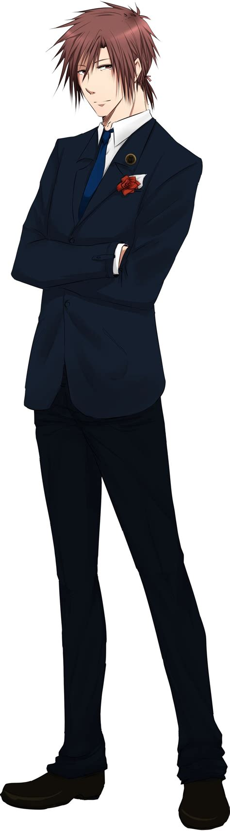 Mz Formal Attire By Timecompass On Deviantart Anime Boy In Suit Drawing Free