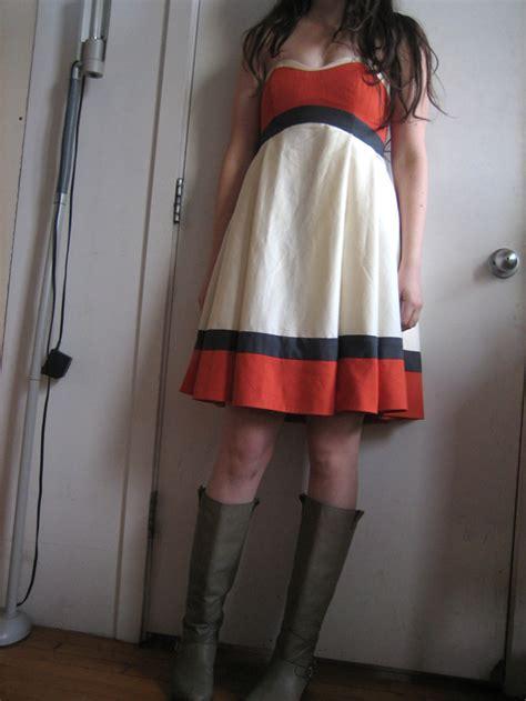 pattern kat dress colorblocked kat dress sewing projects burdastyle com