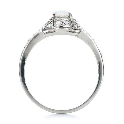 estate engagement ring 100906