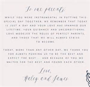 Thank You Letter Parents The Groom how to write a thank you letter to your parents