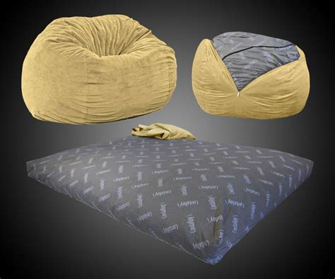 convertible bean bag bed convertible bean bag chair bed dudeiwantthat