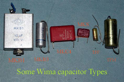 what are wima capacitors fixed caps