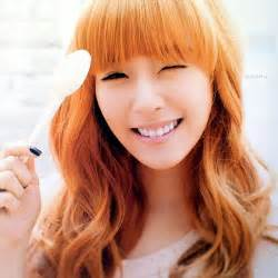 orange hair color anggielian which haircolor