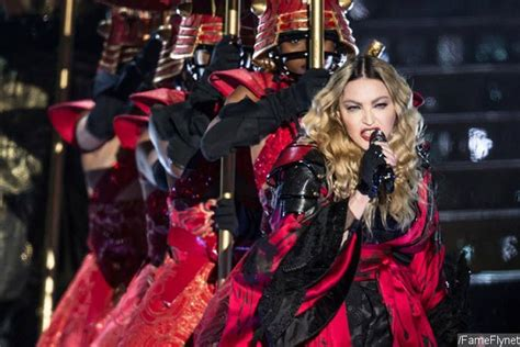 madonna suffers another wardrobe malfunction onstage