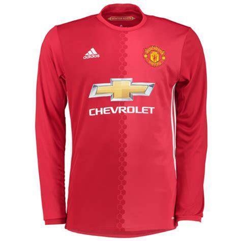 Jersey Manchester United Mu Away Sleeve Ls 20162017 Grade Ori Sp manchester united 3 shaw away sleeves mens adults 2016 2017 club soccer jerseys