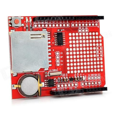 Datalogger Datalogging Shield Untuk Arduino 1 keyes xd 204 data logging shield module for arduino