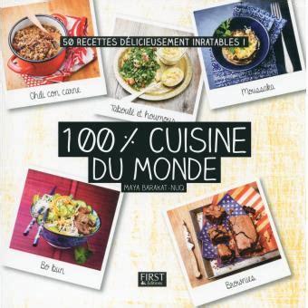 livre cuisine du monde 100 cuisine du monde broch 233 barakat nuq achat