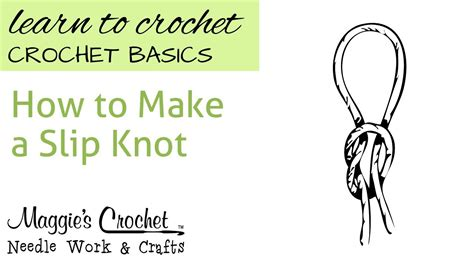 How To Make Knot - how to make a slip knot