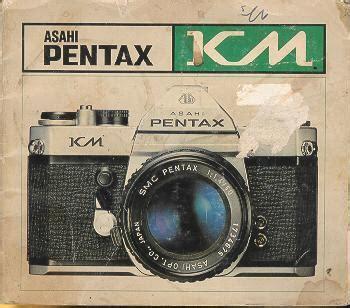 Pentax Km Instruction Manual User Manual