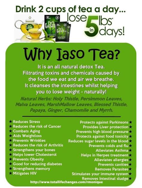 Detox Moose Jaw by Lose Weight For Iaso Tea All