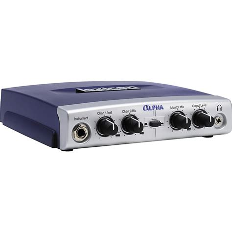 best portable audio interface lexicon alpha usb desktop recording studio musician s friend