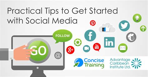get it together cultural and practical tips to be a successful books webinar practical tips to get started with social media