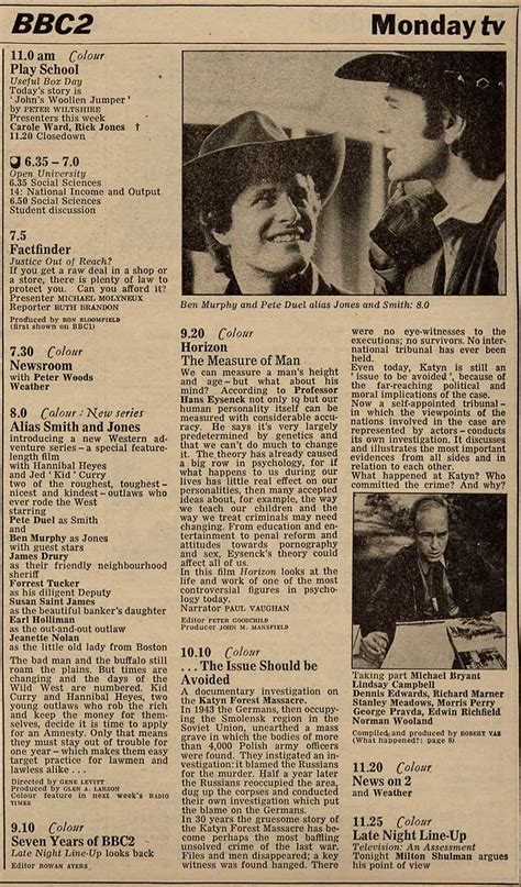 the about these strange times series 1 radio times as j listings