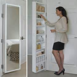 Spice Rack Inside Pantry Door Mounted Bathroom Mirrors Over The Door Bathroom Storage