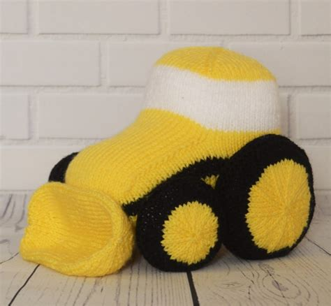 knitted car pattern car aeroplane and digger knitting pattern knitting by post
