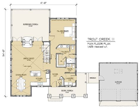 timber floor plan trout creek iii timber frame floor plan by mill creek