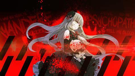 anime wallpaper yandere killerfrost15 images anime yandere wallpaper hd wallpaper