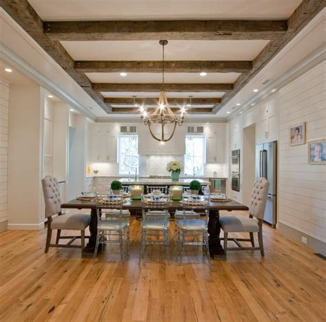 Ballard Design Tables sullivan s island beach house traditional dining room