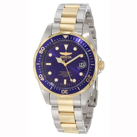 invicta pro diver sport collection two tone gents 8935
