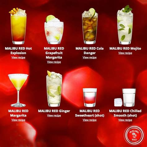 mix with malibu rum 17 best images about malibu rum drinks on