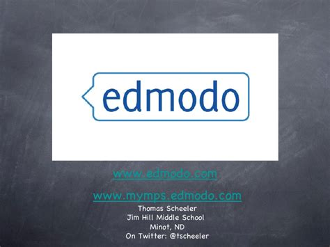 Edmodo Presentation | edmodo parent presentation