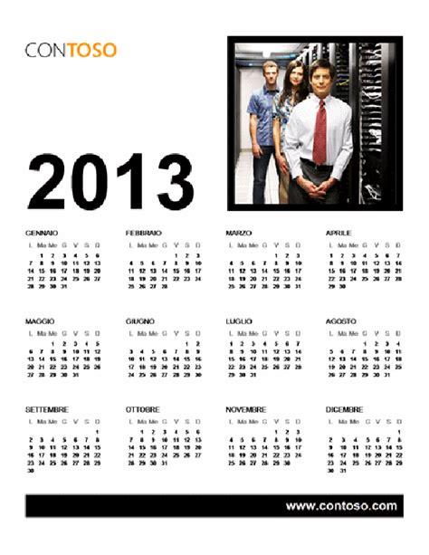 calendario ufficio calendario per ufficio 2013 l d office templates