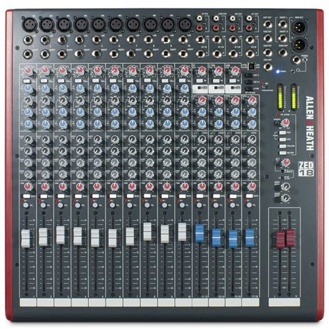 Mixer Allen Heath Terbaru allen heath zed 18 usb mixer dv247