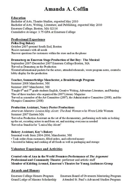Resume Sle With Limited Work Experience Work Resumes 21 Resume Work Exle Resume Ii Limited Experience Best Social Worker Uxhandy