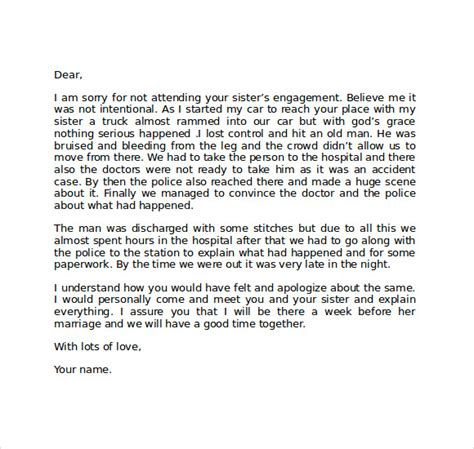 Apology Letter To Get Him Back Apology Letter 7 Free Documents In Pdf Word