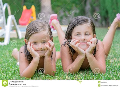 little girls little pics little girls stock image image of colorful hair blond
