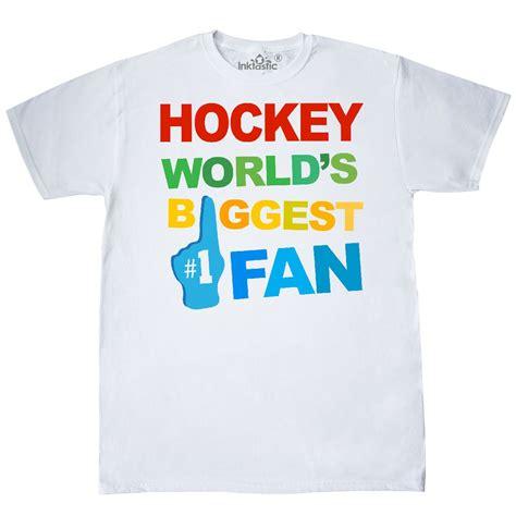 fan made t shirts hockey biggest fan foam hand t shirt white custom
