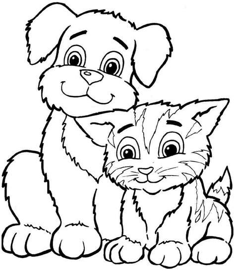 animal coloring sheets coloring sheets animal dogs printable free for boys